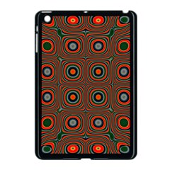 Vibrant Pattern Seamless Colorful Apple iPad Mini Case (Black)