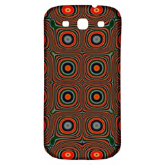 Vibrant Pattern Seamless Colorful Samsung Galaxy S3 S III Classic Hardshell Back Case