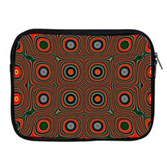 Vibrant Pattern Seamless Colorful Apple iPad 2/3/4 Zipper Cases