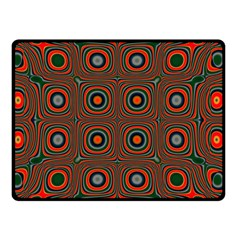 Vibrant Pattern Seamless Colorful Double Sided Fleece Blanket (Small)
