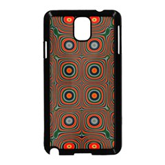 Vibrant Pattern Seamless Colorful Samsung Galaxy Note 3 Neo Hardshell Case (Black)