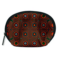 Vibrant Pattern Seamless Colorful Accessory Pouches (Medium)