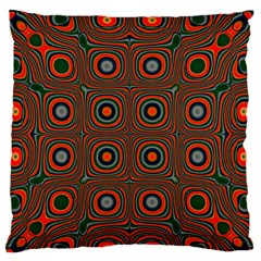 Vibrant Pattern Seamless Colorful Large Flano Cushion Case (One Side)