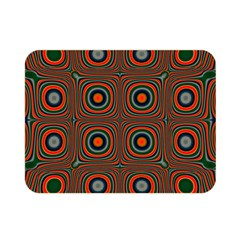 Vibrant Pattern Seamless Colorful Double Sided Flano Blanket (mini)