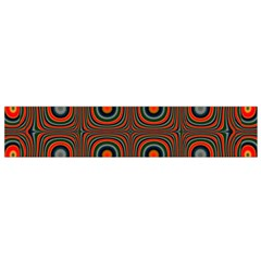 Vibrant Pattern Seamless Colorful Flano Scarf (Small)