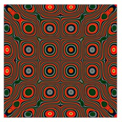 Vibrant Pattern Seamless Colorful Large Satin Scarf (Square)