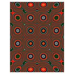 Vibrant Pattern Seamless Colorful Drawstring Bag (large)