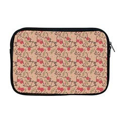 Vintage Flower Pattern  Apple Macbook Pro 17  Zipper Case