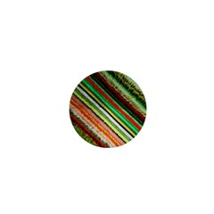 Colorful Stripe Extrude Background 1  Mini Magnets