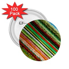Colorful Stripe Extrude Background 2.25  Buttons (100 pack)