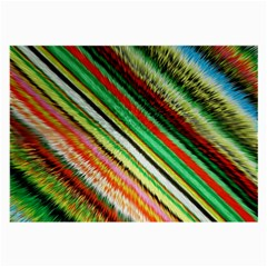 Colorful Stripe Extrude Background Large Glasses Cloth
