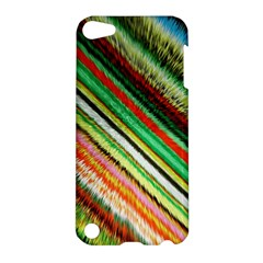 Colorful Stripe Extrude Background Apple iPod Touch 5 Hardshell Case