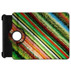 Colorful Stripe Extrude Background Kindle Fire HD 7
