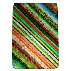 Colorful Stripe Extrude Background Flap Covers (L)