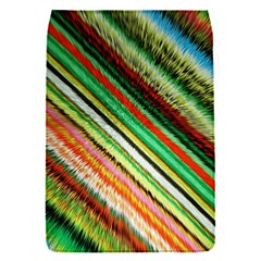 Colorful Stripe Extrude Background Flap Covers (S)
