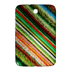 Colorful Stripe Extrude Background Samsung Galaxy Note 8.0 N5100 Hardshell Case