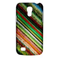 Colorful Stripe Extrude Background Galaxy S4 Mini