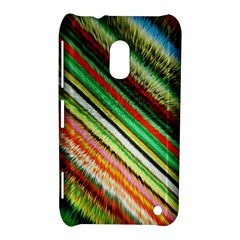 Colorful Stripe Extrude Background Nokia Lumia 620