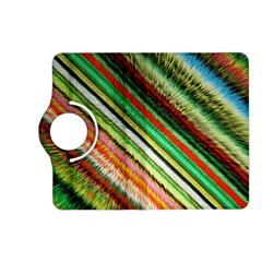 Colorful Stripe Extrude Background Kindle Fire HD (2013) Flip 360 Case