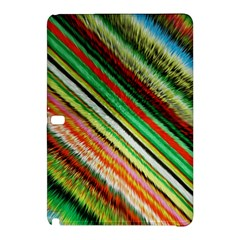 Colorful Stripe Extrude Background Samsung Galaxy Tab Pro 10.1 Hardshell Case