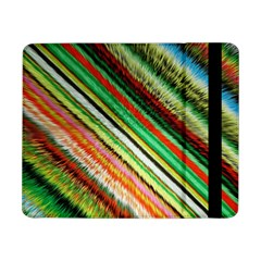 Colorful Stripe Extrude Background Samsung Galaxy Tab Pro 8.4  Flip Case