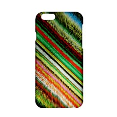 Colorful Stripe Extrude Background Apple iPhone 6/6S Hardshell Case