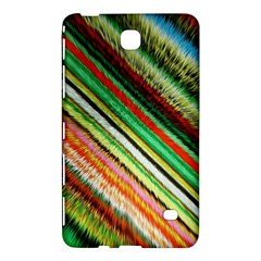 Colorful Stripe Extrude Background Samsung Galaxy Tab 4 (7 ) Hardshell Case