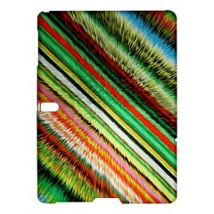 Colorful Stripe Extrude Background Samsung Galaxy Tab S (10.5 ) Hardshell Case