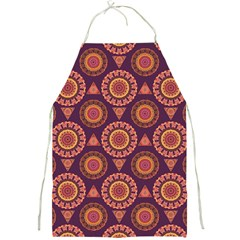 Abstract Seamless Mandala Background Pattern Full Print Aprons