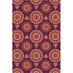 Abstract Seamless Mandala Background Pattern 5 5  X 8 5  Notebooks