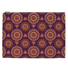Abstract Seamless Mandala Background Pattern Cosmetic Bag (XXL)
