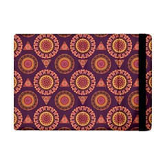 Abstract Seamless Mandala Background Pattern Apple Ipad Mini Flip Case