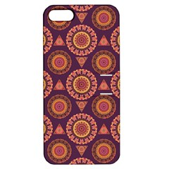 Abstract Seamless Mandala Background Pattern Apple iPhone 5 Hardshell Case with Stand