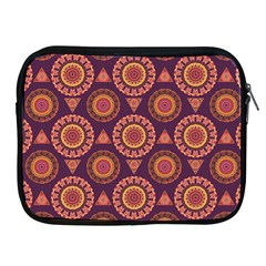 Abstract Seamless Mandala Background Pattern Apple iPad 2/3/4 Zipper Cases