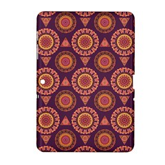 Abstract Seamless Mandala Background Pattern Samsung Galaxy Tab 2 (10.1 ) P5100 Hardshell Case