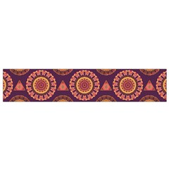 Abstract Seamless Mandala Background Pattern Flano Scarf (small)