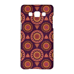 Abstract Seamless Mandala Background Pattern Samsung Galaxy A5 Hardshell Case