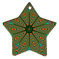 Vibrant Seamless Pattern  Colorful Ornament (star)