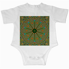 Vibrant Seamless Pattern  Colorful Infant Creepers
