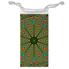 Vibrant Seamless Pattern  Colorful Jewelry Bag