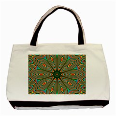 Vibrant Seamless Pattern  Colorful Basic Tote Bag (two Sides)