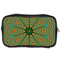 Vibrant Seamless Pattern  Colorful Toiletries Bags