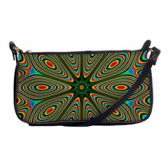 Vibrant Seamless Pattern  Colorful Shoulder Clutch Bags
