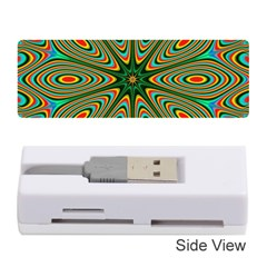 Vibrant Seamless Pattern  Colorful Memory Card Reader (stick)