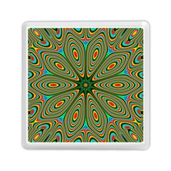 Vibrant Seamless Pattern  Colorful Memory Card Reader (square)