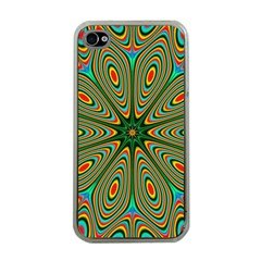 Vibrant Seamless Pattern  Colorful Apple Iphone 4 Case (clear)