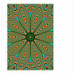 Vibrant Seamless Pattern  Colorful Small Garden Flag (Two Sides)