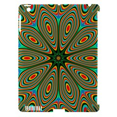 Vibrant Seamless Pattern  Colorful Apple Ipad 3/4 Hardshell Case (compatible With Smart Cover)