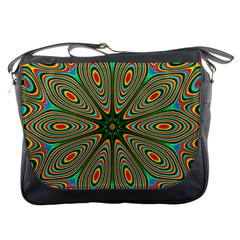 Vibrant Seamless Pattern  Colorful Messenger Bags