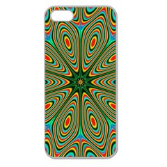 Vibrant Seamless Pattern  Colorful Apple Seamless iPhone 5 Case (Clear)